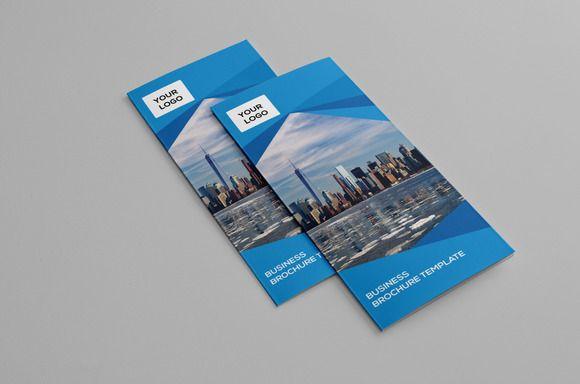 Printable Tri Fold Brochure Template Modern Trifold Brochuredesignrocks On Creative Market .