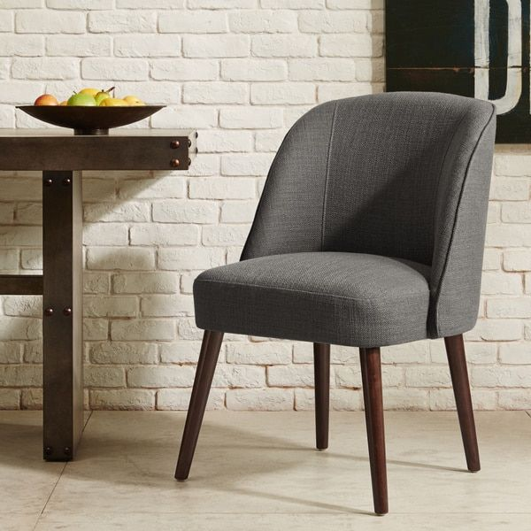 sydney grey accent chair free shipping today overstock com