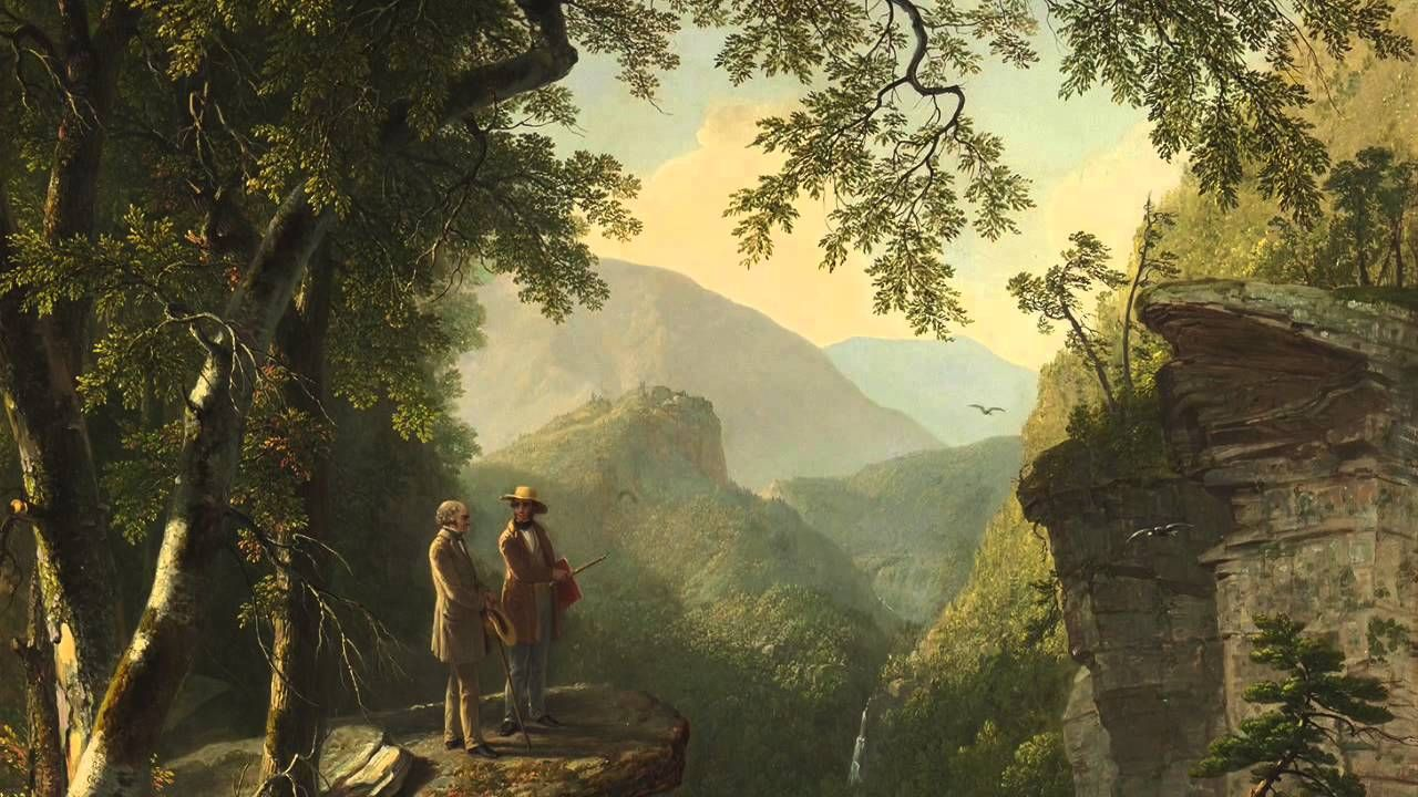 Image result for Kindred Spirits by Asher Brown Durand
