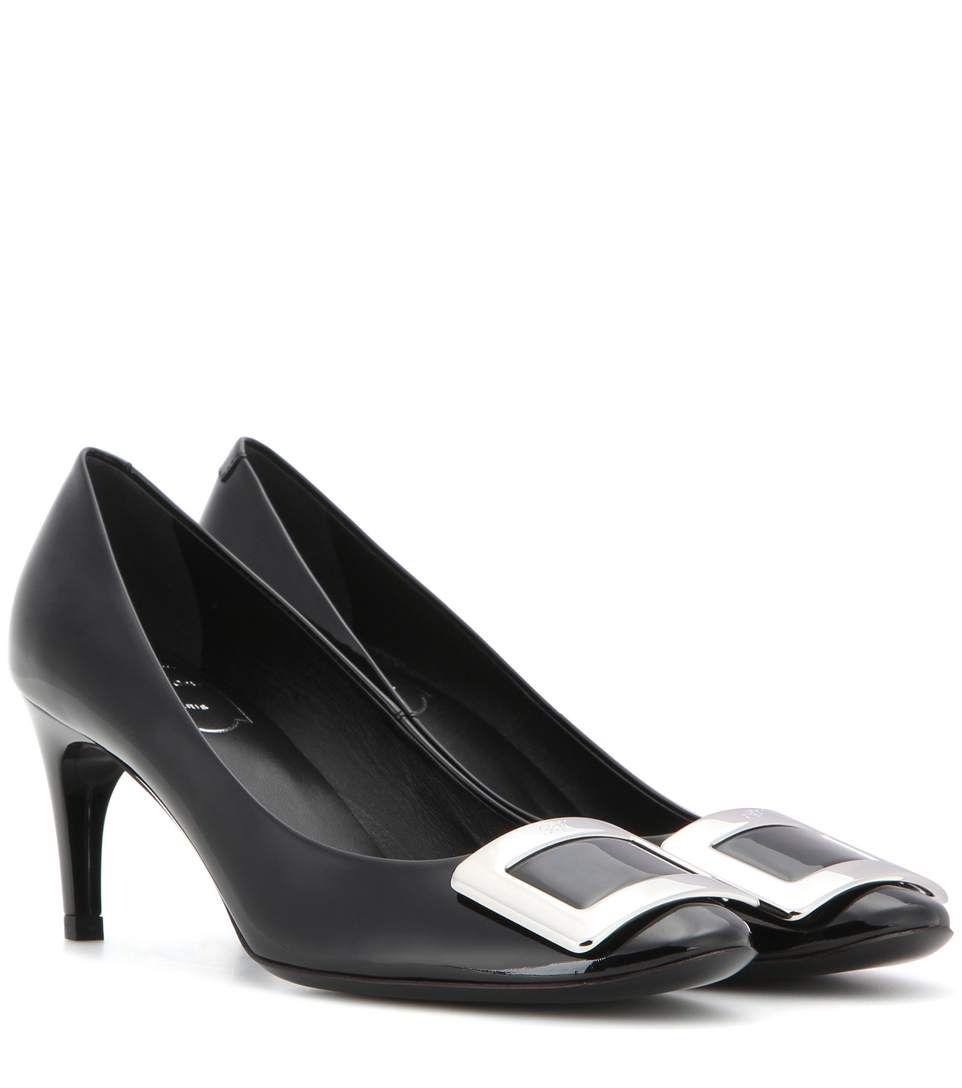 ROGER VIVIER Belle De Nuit Patent Leather Pumps. #rogervivier #shoes #current week