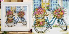 Bicicleta flores