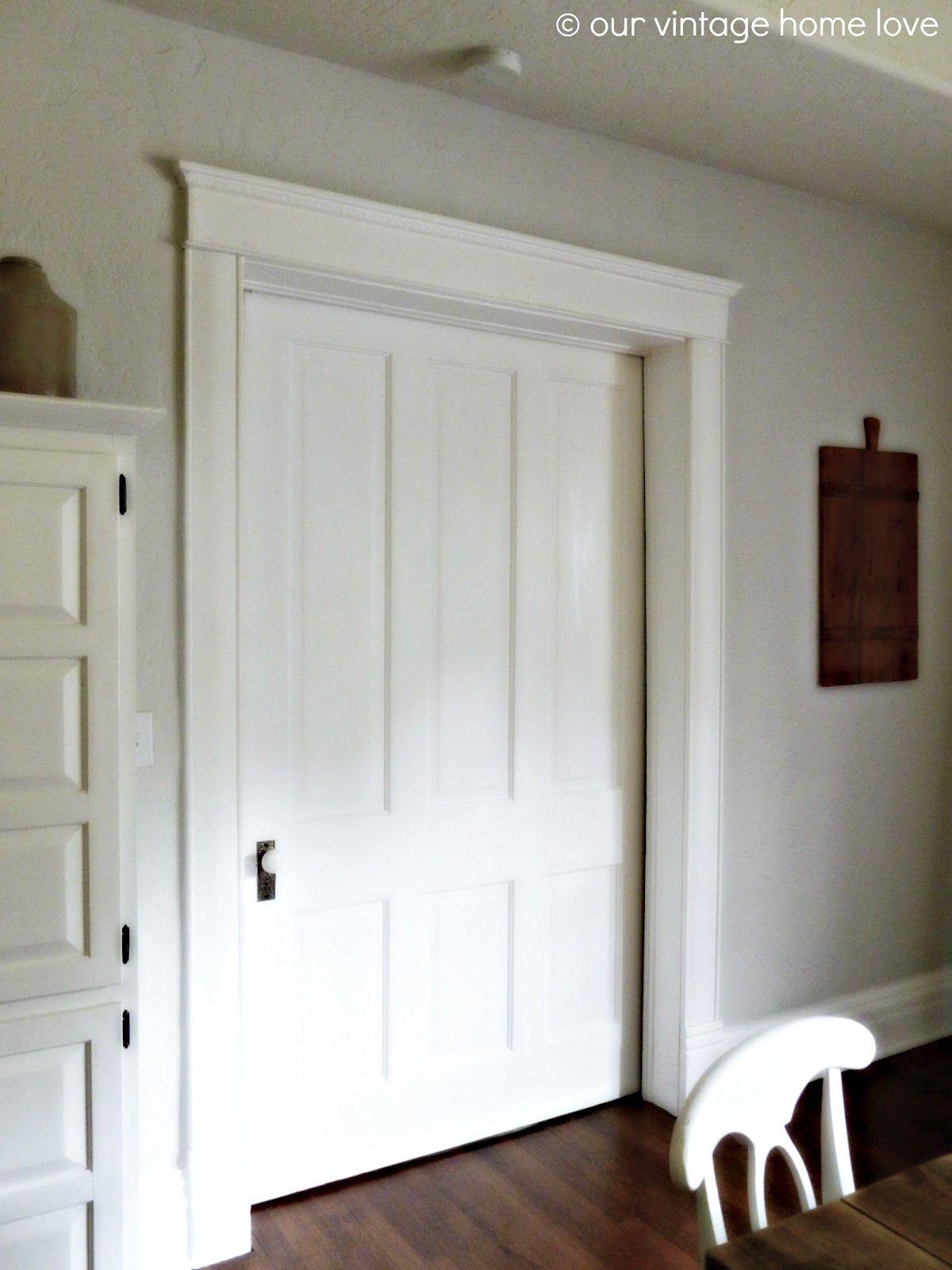 Mouldingtrim Around Door Home Pinterest Moldings Doors And
