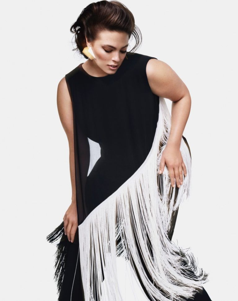 69d4fa3231f Marina Rinaldi Fall/Winter 2018 Campaign featuring Ashley Graham ...