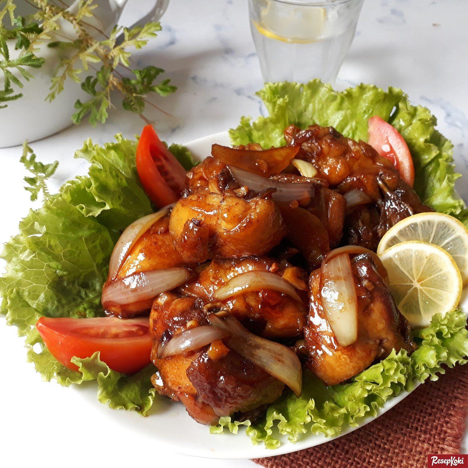 Ayam Kecap Goreng Mentega Istimewa Lezat Praktis Resep Resepkoki Resep Resep Ayam Ayam Goreng Resep Makanan