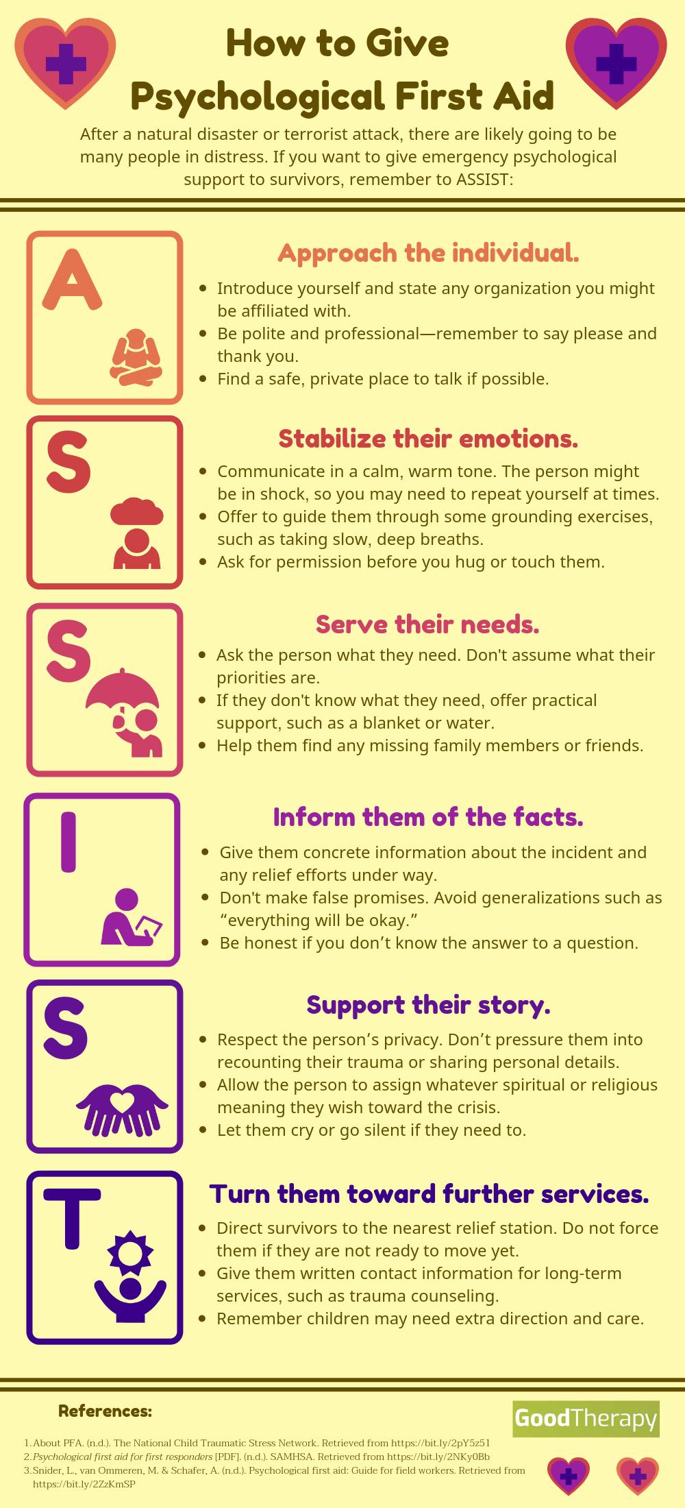 Photo of Wie man psychologische Erste Hilfe gibt #firstaid Wie man psychologische Erste … – New Ideas