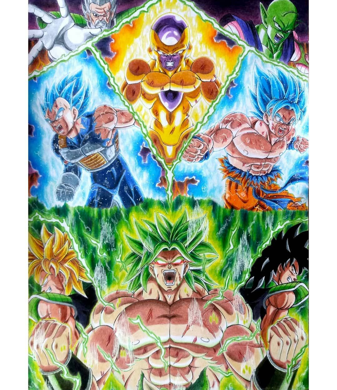 Dragon Ball Super Broly Dragon Ball Gt Dragones Personajes De Dragon Ball