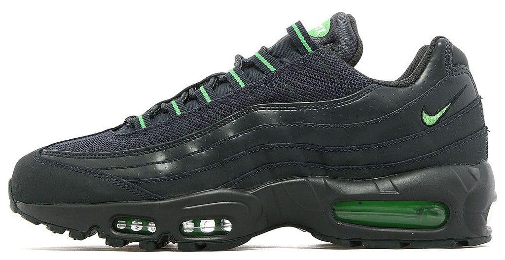 Footwear · Nike Air Max 95 Black/Green JD Sports Exclusive · Kobe ShoesAir  ...