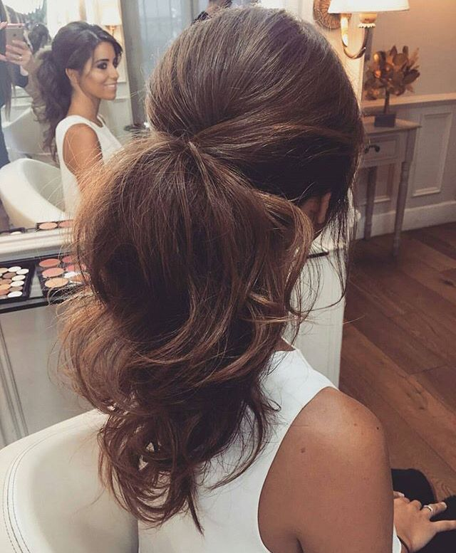 Wedding Hairstyle Prices: Fancy Ponytail, Perfect