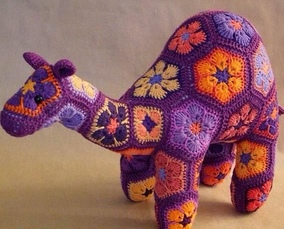 Custom Handmade African flower Camel | African Flower | Pinterest ...