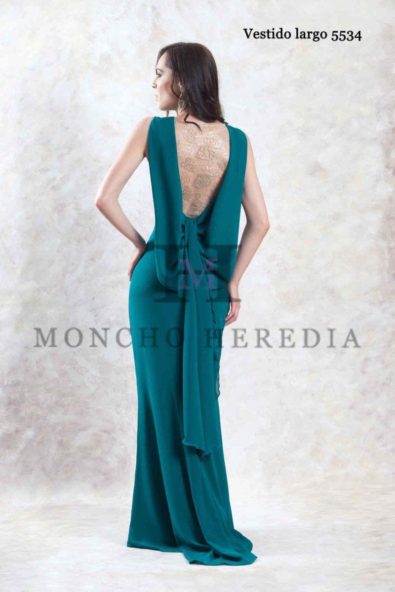 f1c88c28e7 Vestidos de fiesta Moncho Heredia colección 2019 - Entrenovias en ...