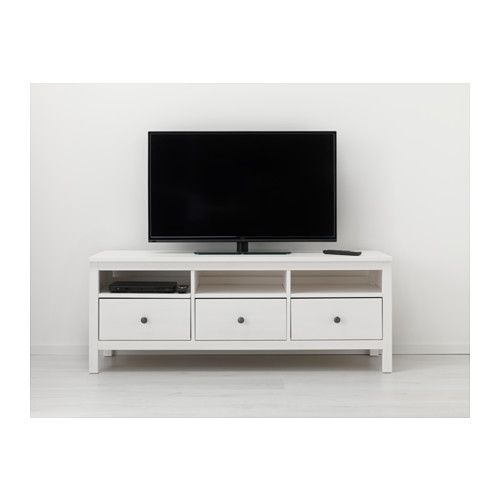 Ikea hemnes tv bench light brown home pinterest - Mueble tv hemnes ...