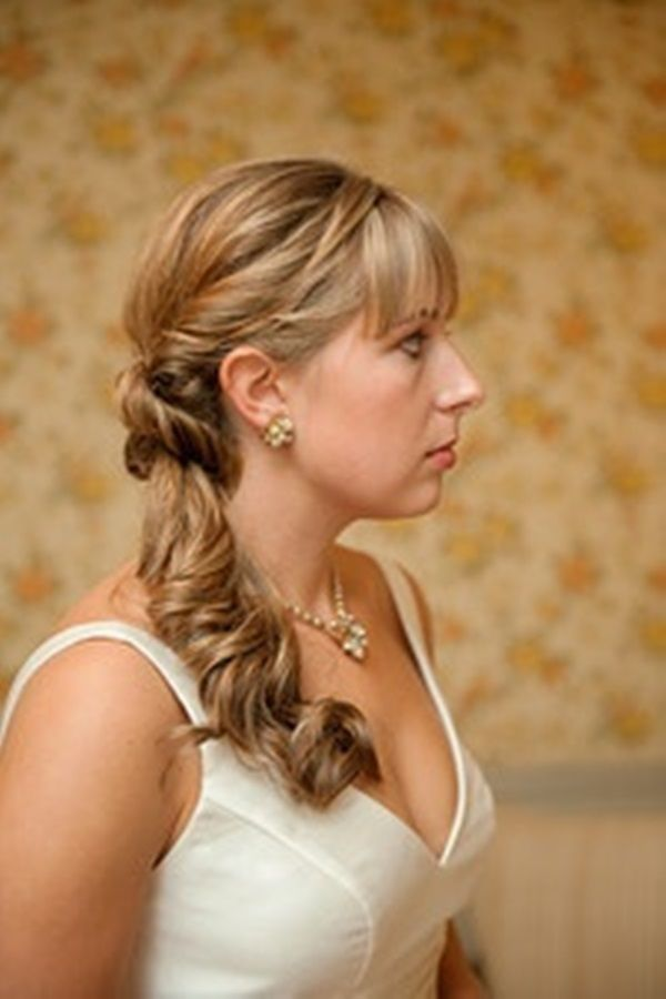 Elegant Side swept Updos and Hairstyles (16) | Hair | Pinterest ...