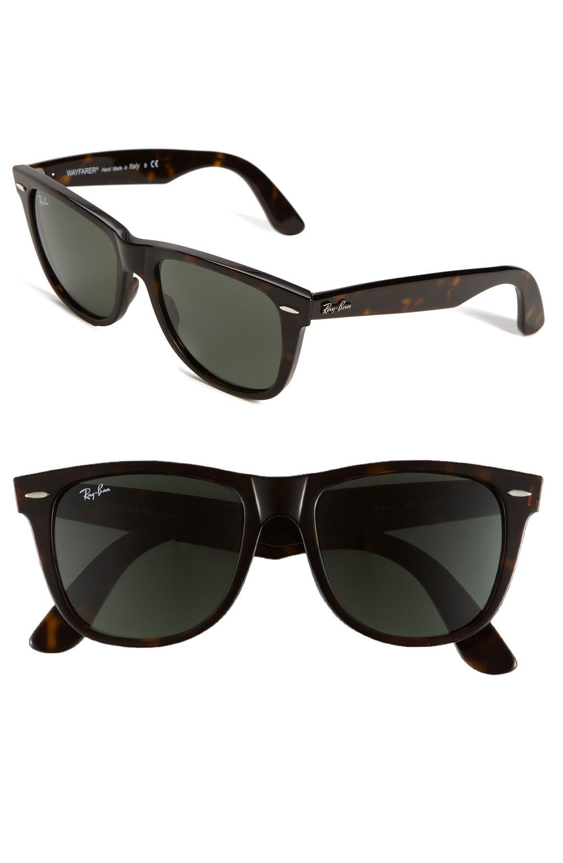 67009de0ed Ray-Ban  Classic Wayfarer ...there are wayfarers with smaller lenses but I  need the bigger lenses!