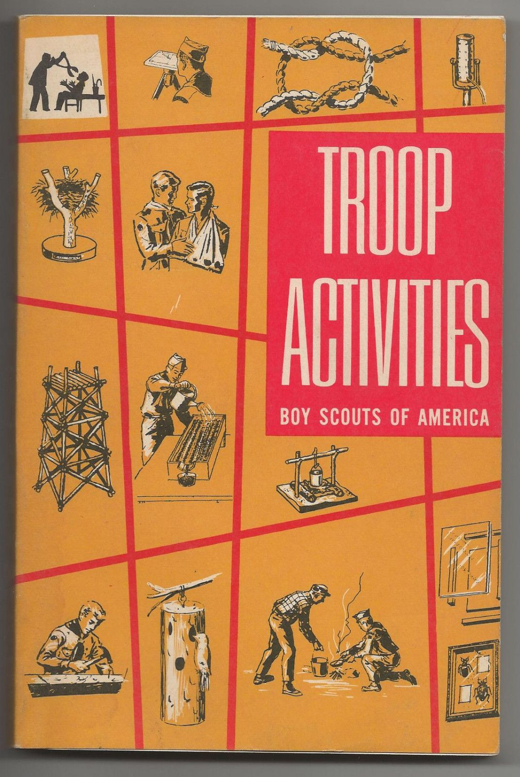 Vintage Boy Scout Activity Book