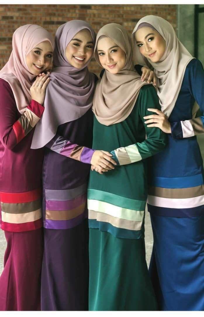 Pin by nursyuhaidah on Baju Kurung | Fashion, Hijab