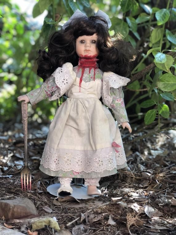 Amnesia Ann, horror doll, scary doll, possessed doll, porcelain doll