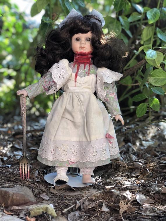 Amnesia Ann, horror doll, scary doll, possessed doll, porcelain doll
