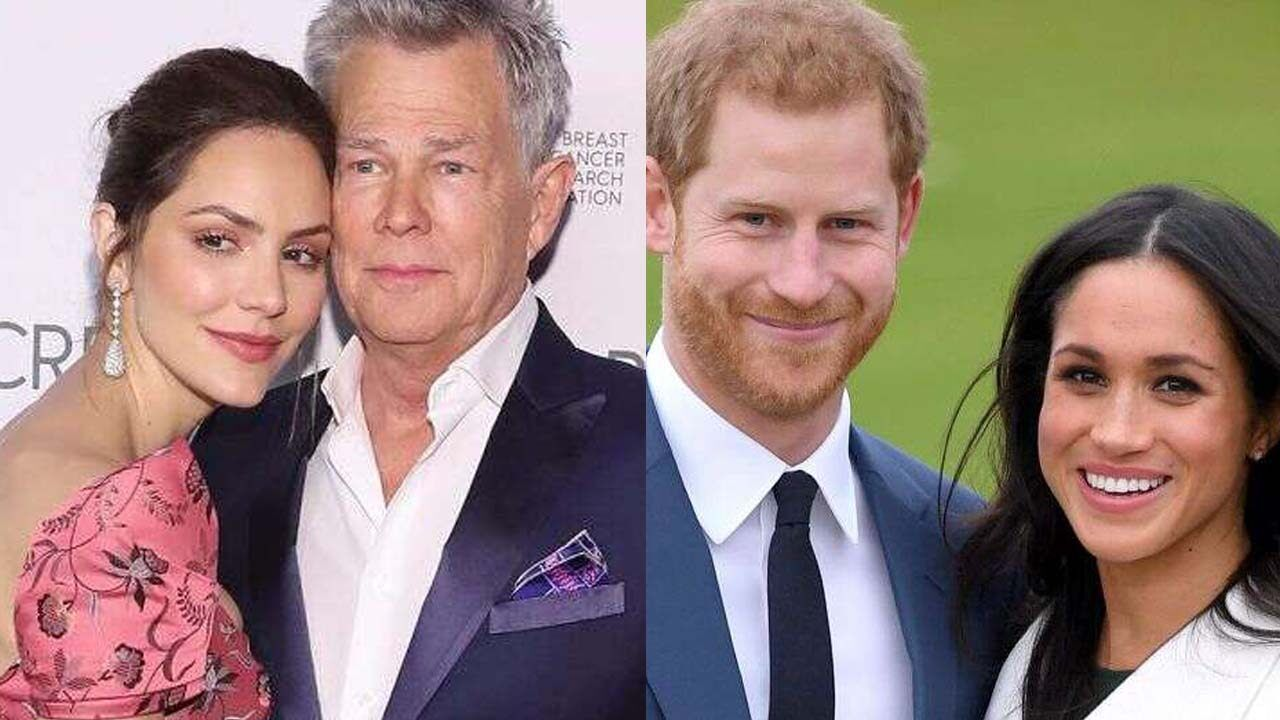 Katharine Mcphee Says Husband David Foster And Prince Harry Are Like Father And Son In 2020 Prince Harry And Meghan Katharine Mcphee Christie Brinkley Style