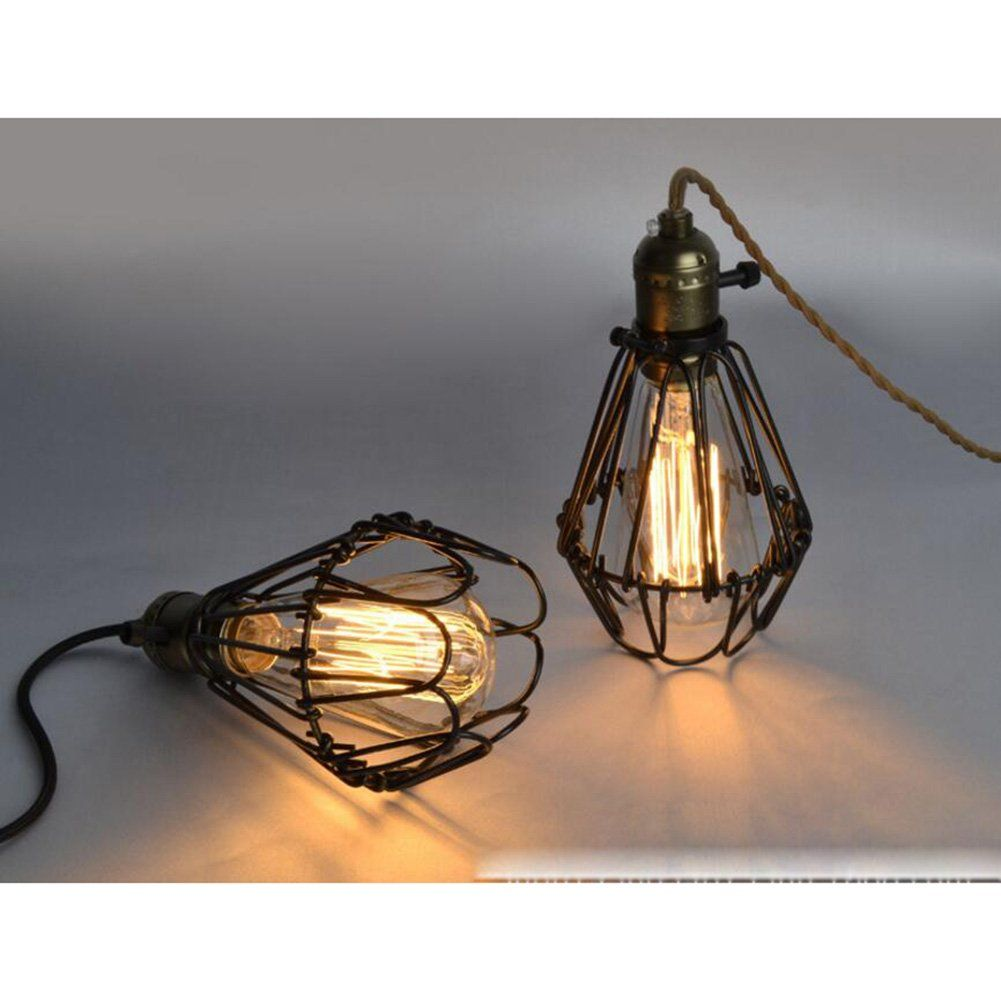 Vintage Ceiling Lamp SUN RUN Hanging Lighting Edison Multiple ...