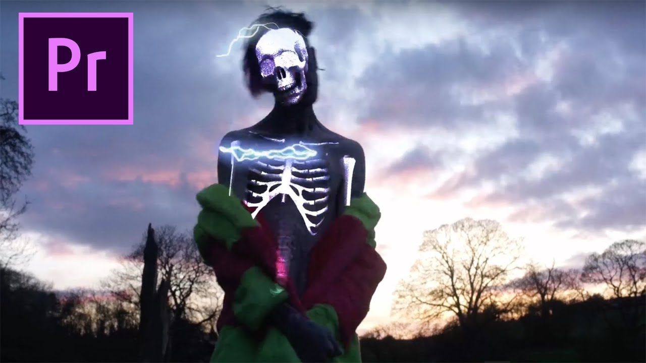 Adobe Premiere X Ray Vision Skeleton Effect Lil Peep Benz