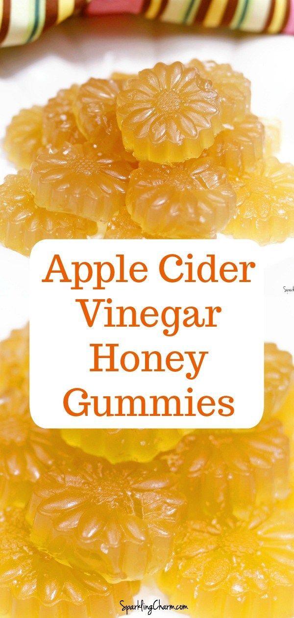 Apple Cider Vinegar Honey Gummies - Sparkling Charm