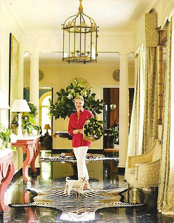 Veranda Magazine Contributing Editor Danielle Rollins In Her 1920s Atlanta  Home. Interior Designer: Miles