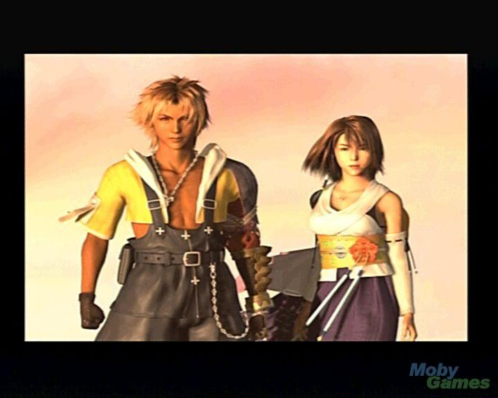 Week 10 - Final Fantasy X - Game Art Sun -  Like every good couple, Tidus and Yuna will face most of danger together.