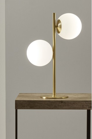 Buy Leo White Orb And Gold Metal Table Lamp By Pacific From The Next Uk Online Shop Metal Table Lamps Metal Table Gold Metal Table