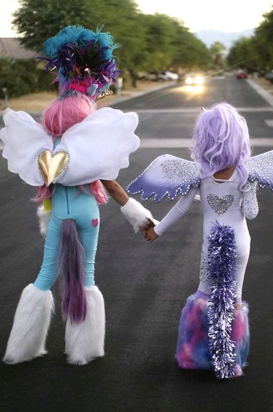 Diy My Little Pony Costume Pj Group Halloween Costumes Unicorn