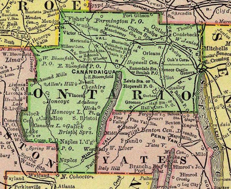 Ontario County, New York, 1897, Map, Rand McNally ... on washington ny map, lyncourt ny map, northfield ny map, greenfield center ny map, ellery ny map, geneva new york, rondout ny map, wooster ny map, rockford ny map, elwood ny map, florence ny map, denver ny map, webb ny map, ny canal map, ontario county ny map, edmonton ny map, town of tyre ny map, pittsburgh ny map, glasgow ny map, barrington ny map,
