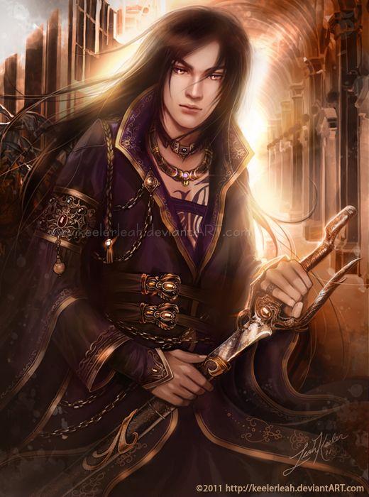 Black Hair Fantasy Male Fantasy Art Fantasy Warrior