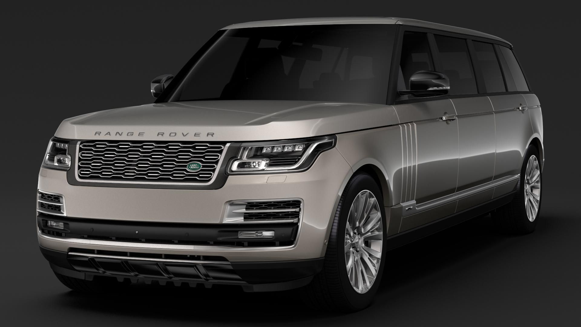 Range Rover Svautobiography Limo L405 2019 3d Model Ad Svautobiography Rover Range Limo Range Rover Limo Range Rover Supercharged