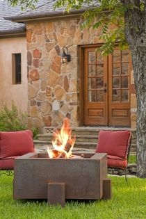 Cor-Ten Steel Fire Pit | Garden Fire Pits | Outdoor Fire Pits - Fire Pits | Modern Fire Pits | Cor-Ten Steel Fire Pits