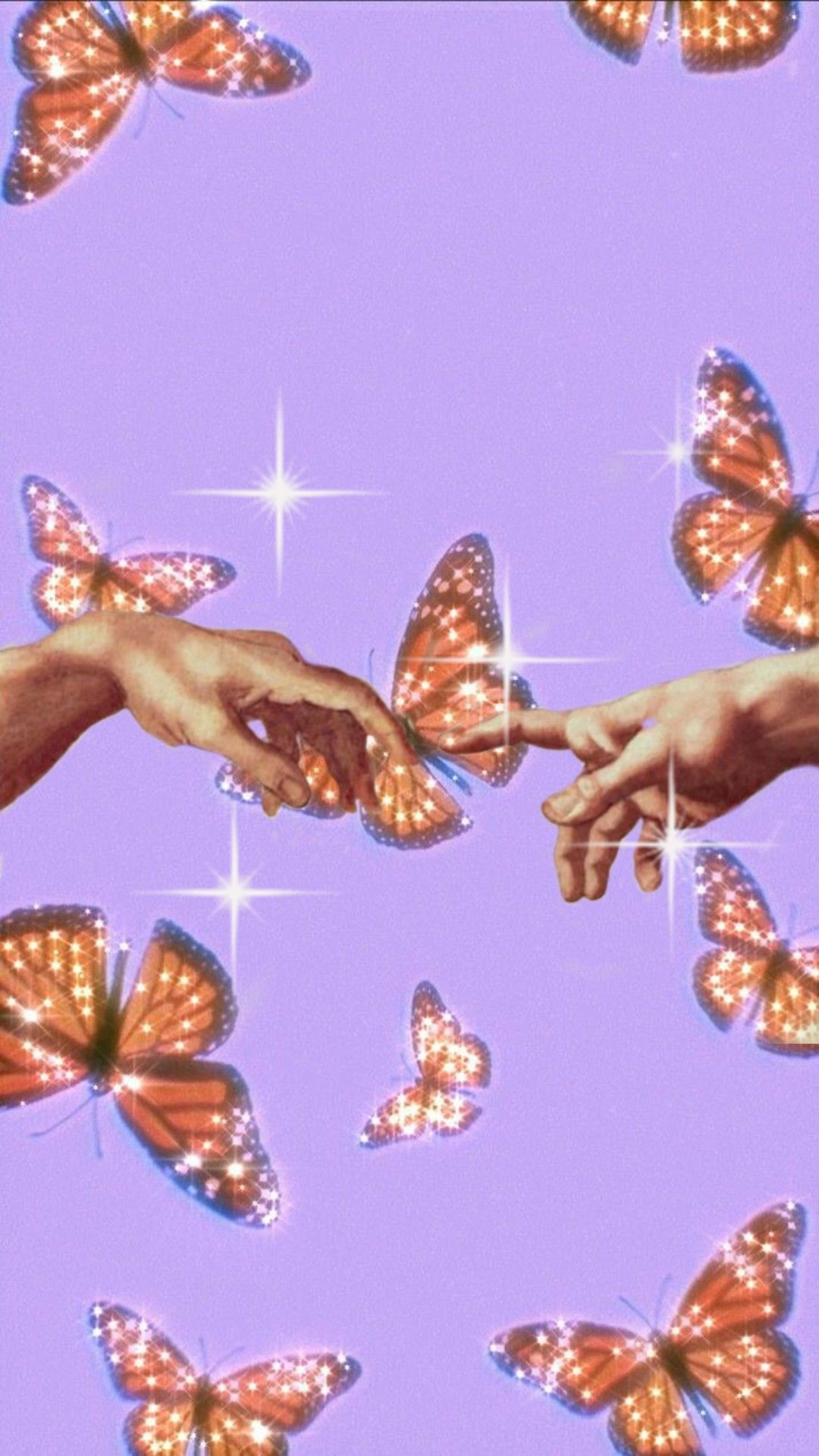 Aesthetic Butterfly Wallpaper Aesthetic Iphone Wallpaper Butterfly Wallpaper Hand Wallpaper