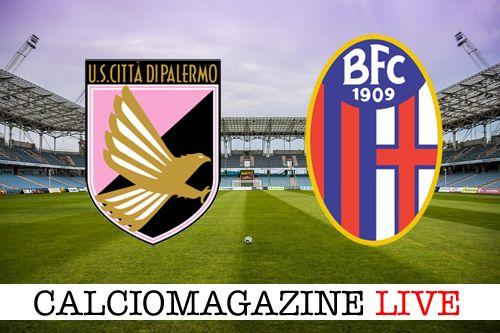 Palermo-Bologna LIVE sabato 15 aprile 2017 dalle ore 15
