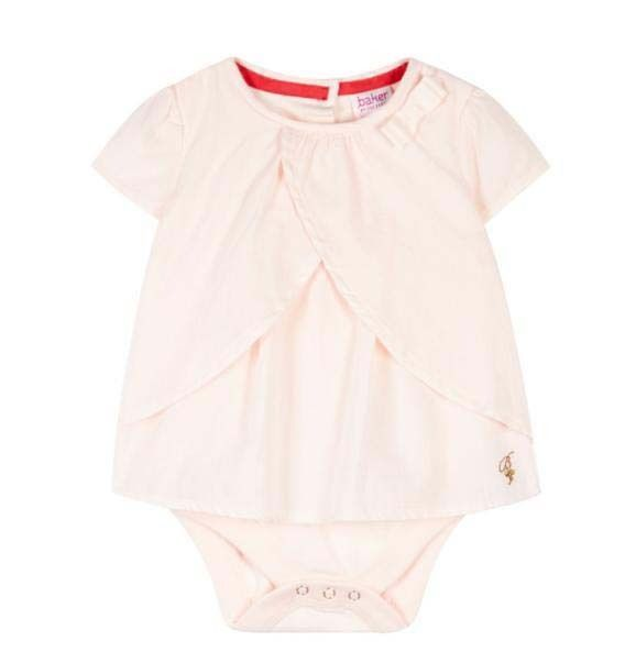 e0cc6ec069c536 Ted Baker Baby Girls Romper Bodysuit Pink Designer 6-9 Months