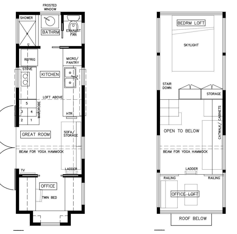 Light Haus Tiny House 24 X8 6 Tiny House Plans Tiny House Floor Plans Tiny House Layout Tiny House Australia
