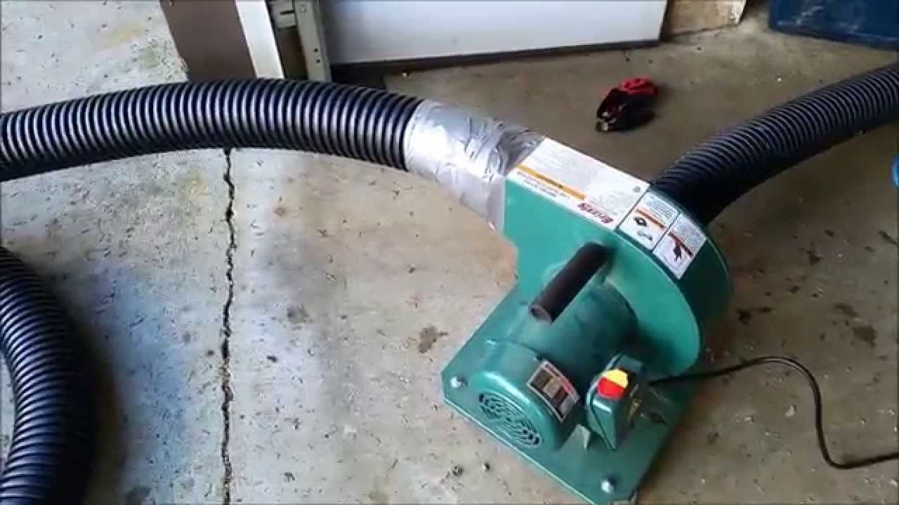 Diy Blown In Insulation Vacuum Home Repair Projects