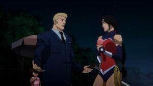 Steve Trevor & Wonder Woman