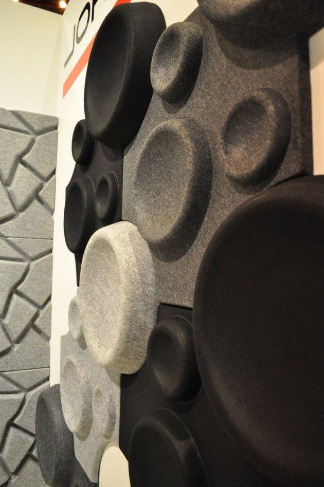 Akustik - 'Panelinspireret' design kan fremme møblets akustiske egenskaber og skaber interessante overflader