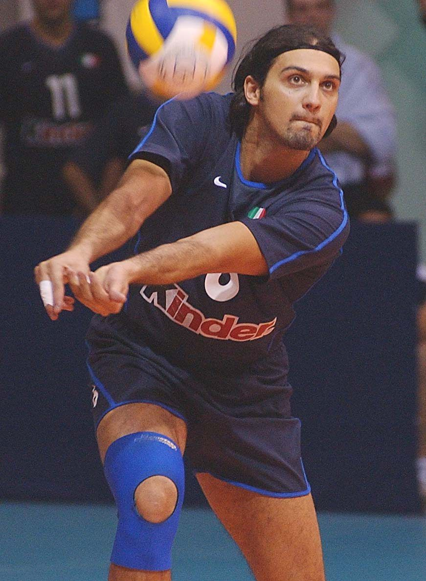 Samuele Papi Volleyball Players Sporty Men