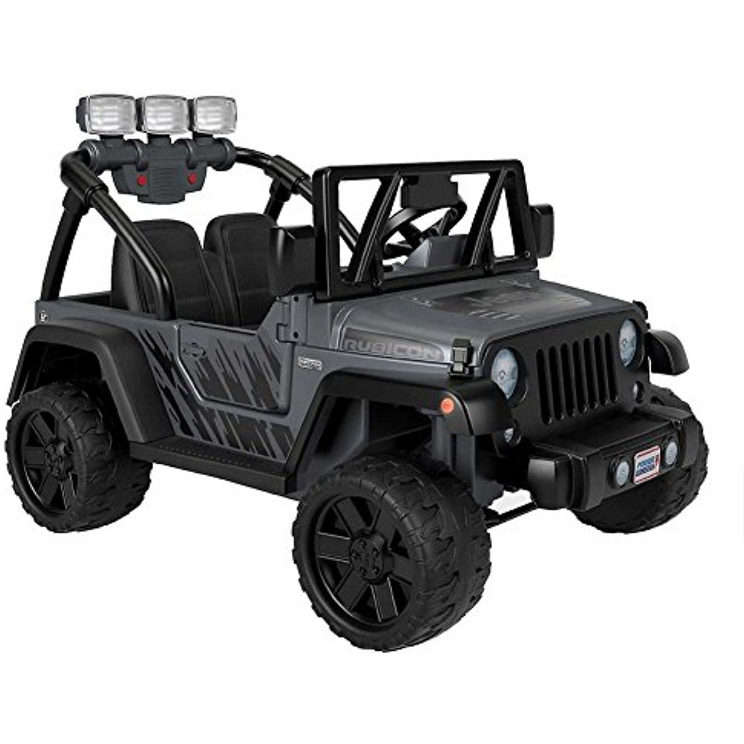 Fisher Price Power Wheels Deluxe Jeep Rubicon Wrangler 12v Ride On Details Can Be Found By Clicking On The Image This Is A Jeep Rubicon Power Wheels Jeep