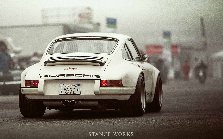 Stanceworks Wallpaper A Singer Porsche At Mazda Laguna Seca
