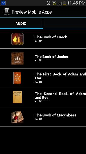 The Book Of Jasher Audio