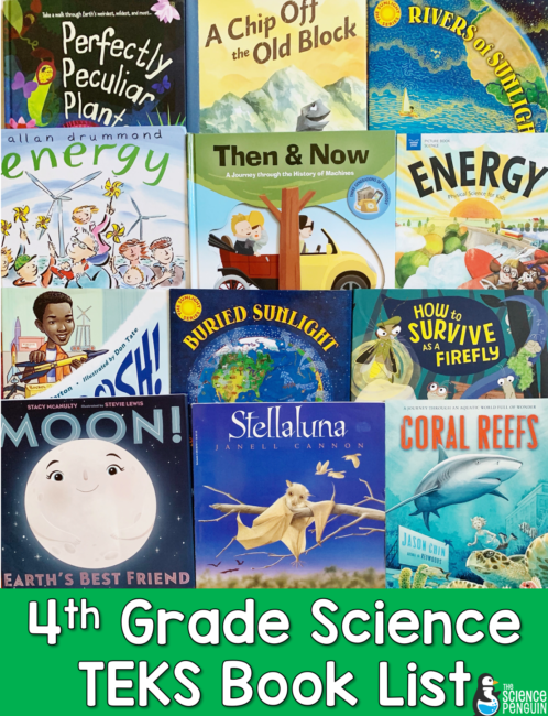 Photo of The Ultimate 4th Grade Science TEKS Book List — The Science Penguin