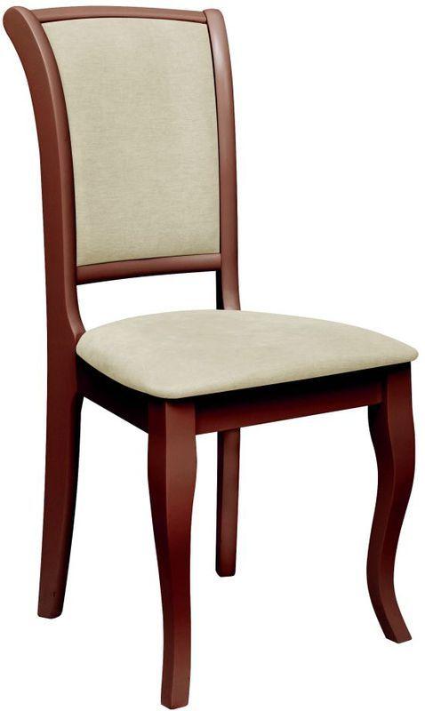 стул деревянный джил усиленный каркас цвет каштан 4uglacomua