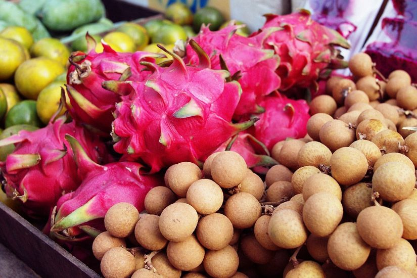 #dragonfruit, #longan, #fruits - I miss these fruits on a daily basis...
