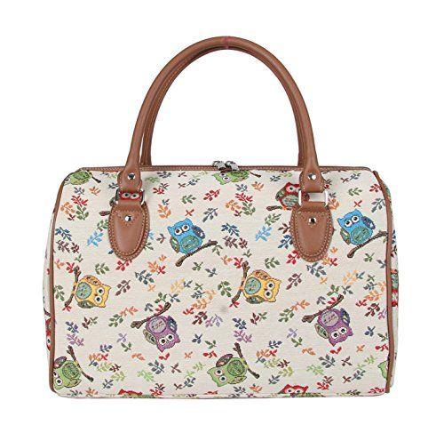 Signare Womens Tapestry Fashion Weekend Handbag Travel Bag Owl Design Handbag Queen https://www.amazon.ca/dp/B013GNI054/ref=cm_sw_r_pi_dp_T-xcxbHHKNY88