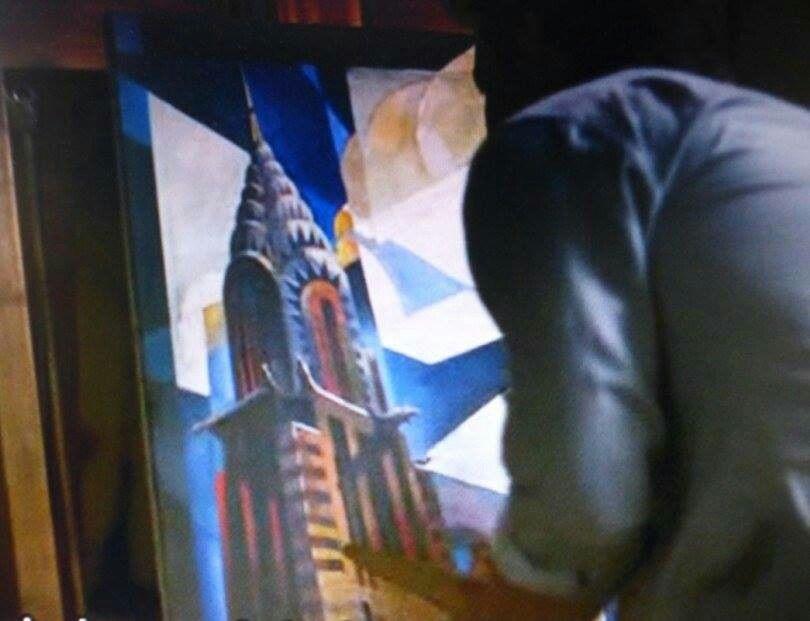 The Chrysler Building Painting Mit Bildern