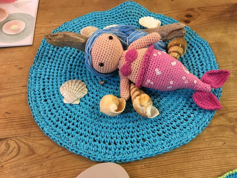 #ricodesign #zeemeermin #haken #creative #paper #hobby #haakcafe #lavivere #zoetermeer  #haakpakket #haaknaalden www.facebook.com/...